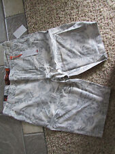NEW WEARFIRST SHORTS MENS 36 OVERCAST COMBO LEAF PRINT LIGHTWEIGHT FREE SHIP