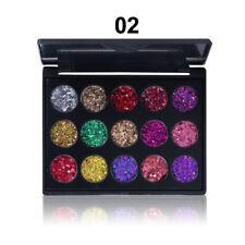 Sexy Diamond 15Colours Glitter Eyeshadow Palette Makeup Eye Shadow Cosmetic Tool