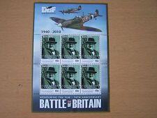 BAHAMAS 2010,BATTLE OF BRITAIN 65C SHEETLET,CAT £10.50,CHURCHILL,EXCELLENT.