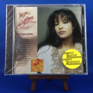 Selena: 12 Super Exitos (NEW EXTREMELY RARE 1994 CANADIAN IMPORT CD BRAND 30907)