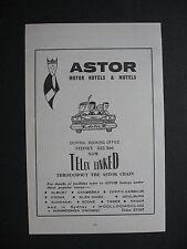 Astor Motor Motel & Motels