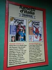 FUMETTI D'ITALIA Tandem N 2 1992 Poster Dylan Dog Frollo Batman Jacovitti   C