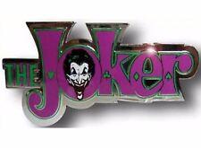 Batman Joker Belt Buckle Usa American Superhero Comics Logo Gothic Western Rodeo