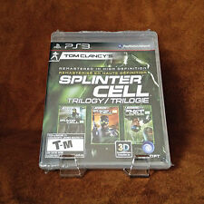 Tom Clancy's Splinter Cell: Trilogy HD PS3; Like New Resealed [PlayStation 3]