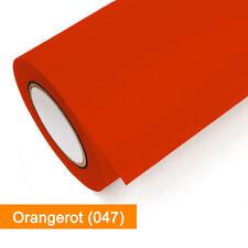 Klebefolie | Oracal 651-047 Orangerot glänzend - matt | ab 1 lfm | günstig