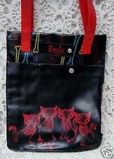 NWOT - Hot Topic - Emily the Strange Cat / Kitty & Bone Design Tote Bag