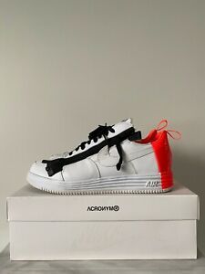 Nike Lunar Force 1 Low Acronym Bright Crimson