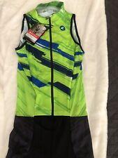 Pactimo Mens Large Tri Triathlon Sleeveless Suit - New