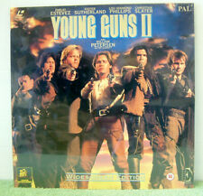 Young Guns II 2 & UK Laserdisc Cat Ee1102