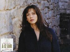 6 Photos Cinéma 21x28cm (2003) A CE SOIR  Sophie Marceau, Antoine Chappey NEUVE