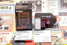 (174) Vivitar 628Af Flash f/Minolta w/all accessories, functional, new in box