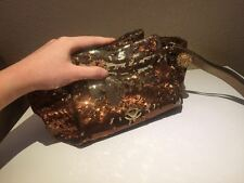 Emporio Armani fabric glittery clutch bag new