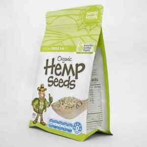 Hemp Foods Australia Certified Organic Hemp Seeds GMO Free Superfood Health 250g