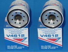 LOT OF 2 V4612 Oil Filter GROUP7 Made in USA For: Chrysler Ford Mazda Mitsubishi