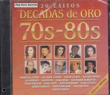 Manoella Torres Oscar Chavez Sonia Lopez Decadas De Oro 70s-80s CD New