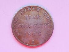 L2588     PREUSSEN 1/6 Taler / 4 Groschen 1818 A