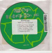 (GU230) Ambisonic, Helicopter Kinda Girl - 1996 DJ CD