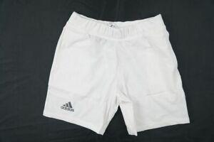 adidas Shorts Men's White Poly NEW Multiple Sizes
