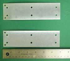 TWO New Steel Joiner Plates For UREI & UA LA-3A, LA-4, Other Half Rack Gear. UJ