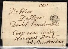 Netherlands 1735 folded 3 Stuiver letter to Amsterdam