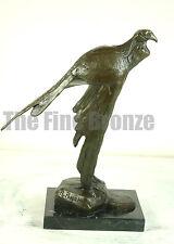 Bird Statue Bronze Sculpture, Signed:R. Bugatti,