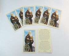 St. Benedict Holy Cards, Prayer Cards, Package of 25, Card Stock