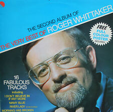 "Vinyle 33T Roger Whittaker  ""The second album of the very best of ... """