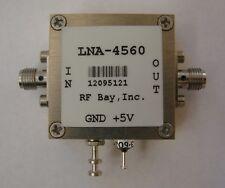 4500-6000MHz 1.1dB NF Low Noise Amplifier, LNA-4560,SMA