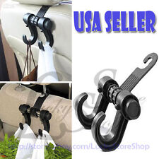 UNIVERSAL FASHION CAR HANGER AUTO BAGS ORGANIZER HOOK CAR SEAT HEADREST HOLDER