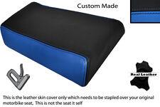 Luz Azul Y Negro Custom Fits Yamaha Fzr 600 89-99 Trasero necesidades cubierta de asiento