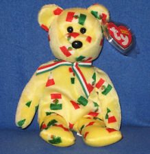 TY PINATA the BLACK NOSE BEAR BEANIE BABY - MINT with MINT TAGS