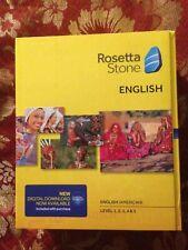 Rosetta Stone English (American) TOTALe v4 Level 1-5 (Retail) (1 User) - Full Ve