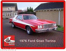 1976 Ford Gran Torino Starsky & Hutch Refrigerator / Tool  Box  Magnet