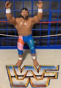 RARE Haku 1989 WWF LJN Grand Toys Wrestling Superstars Figure Black Card WWE