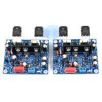 1pair Assembled MX50 SE KTB817 KTD1047 15-100W Dual Class AB Amplifier Board