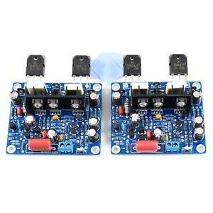 1pair spare parts MX50 SE KTB817 KTD1047 15-100W Dual Class AB Amplifier Board