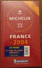 Guide Rouge Michelin France 2004 Neuf sous blister