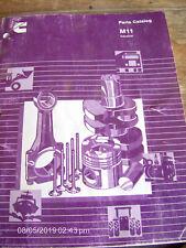 CUMMINS Engine Co. M11 Industrial Parts Catalog MTA 11-C CPL 1897 CP   Lot #275