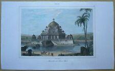 1845 print TOMB OF SHER SHAH SURI, SASARAM, BIHAR, INDIA (#44)