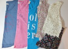 LOT Juniors Size XS 0 Spring Summer Shirts Shorts Hollister Abercrombie & Fitch