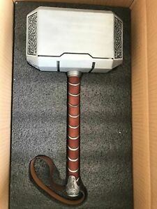 Full Metal CATTOYZ 1:1 The Avengers Thor Hammer Replica Props Mjolnir Gifts