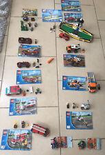 Bundle Lego City Marvel Castle 60023 60017 60148 60138 60119 70400 76064 Vgc