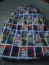 Star Wars Twin Fitted Sheet Multicolor R2D2 C3P0 Darth Vadar Chewbacca Yoda