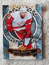 Detroit Red Wings Pavel Datsyuk Signed 07/08 Upper Deck Artifacts Auto Card
