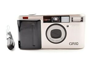 RICOH GR10 28mm F2.8 【Very Good】 Point & Shoot 35mm Film Camera with strap Japan