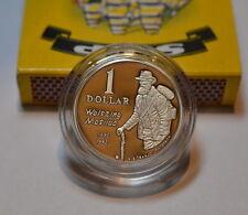1 Dollar Silver Coin Waltzing Matilda Australia 1995