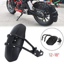 "12-18"" Motorcycle Rear Wheel Fender Guard Accessories Splash Mudguard Protector"