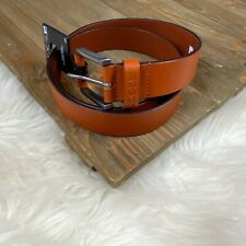 Joe's Jeans Belt Men's Size 36 Tan Genuine Leather New With Tags