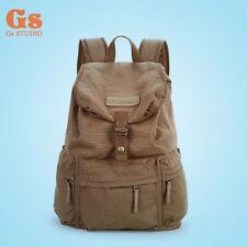 BBK-S2 Canvas DSLR Camera Bag School Bag Backpack Rucksack Bag Travel Bag
