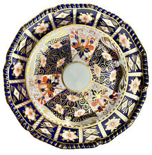 """Gorgeous Antique Royal Crown Derby Traditional Imari 9"""" Display Cabinet Plate"""